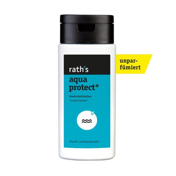 rath's aqua protect unparfümiert Hautschutzlotion - 125 ml-Flasche
