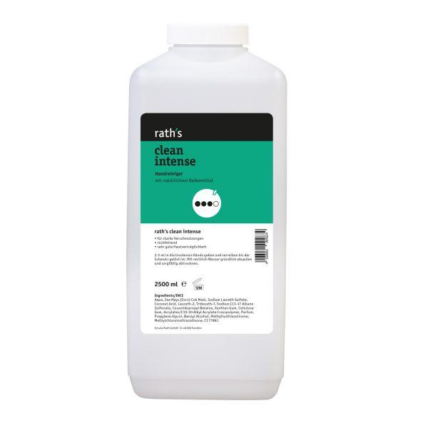 rath's clean intense - reibemittelhaltiger Handreiniger 2,5 Liter-Flasche