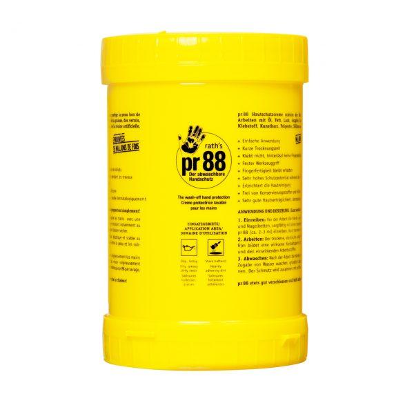rath's pr88 Hautschutzcreme - 1,6 Liter-Kartusche