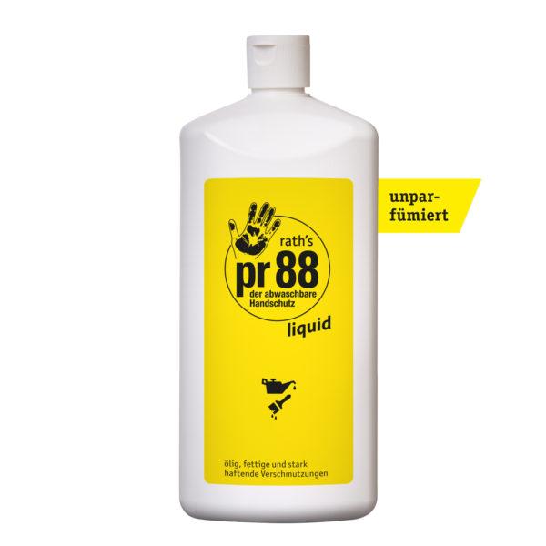 rath's pr88 liquid - der abwaschbare Handschutz - 1 Liter-Flasche