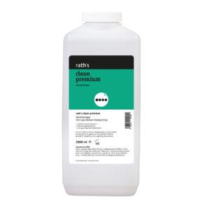 rath's clean premium Handreiniger - 2,5 Liter - mit Walnussschalenmehl- 2,5 Liter-Flasche