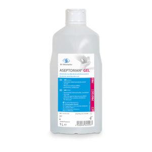 Desinfektion Aseptoman Gel 1 Liter-Flasche